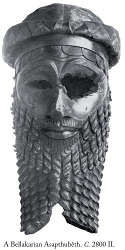 A Bellakarian Asapthubêth. Circa 2800-2900 Second Age.