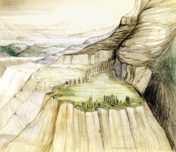 Dunharrow, by J.R.R. Tolkien