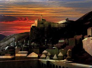 Sunset at Gobel Mírlond