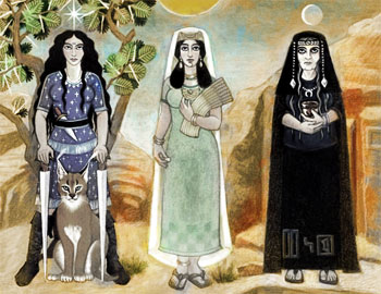 Triple Goddess of the Haruze