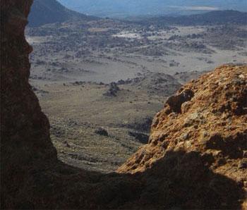 Mordor landscape
