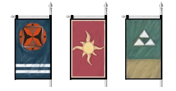 War banners of Khand