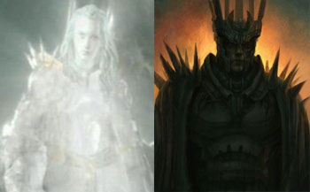 Annatar and Sauron